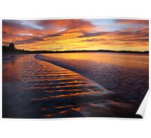 7Mile Beach Winter Sunrise Poster