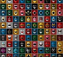 Complete Mighty Morphin Power Rangers by gmorningnight