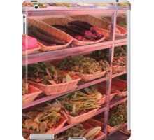 China - ingredients for a meal iPad Case/Skin
