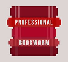 Professional Bookworm by LovelyOwlsBooks