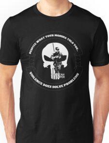 AMERICAN SNIPER CRAFT C.R.A.F.T. VIOLENCE SOLVE PROBLEMS DARK Unisex T-Shirt