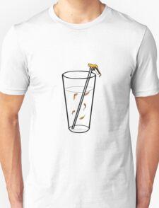 A Goldfish Drink - Orange Cat T-Shirt