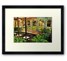 Paddington reserve Framed Print