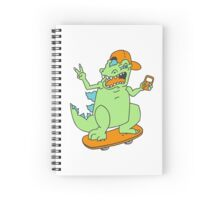Cool Reptar Spiral Notebook