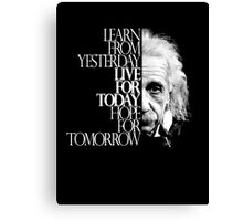 Live for Today 2 Canvas Print