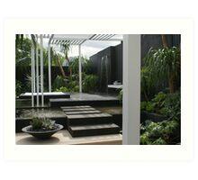 Canary Island Spa Garden ii Art Print