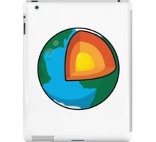 Center of the Earth iPad Case/Skin