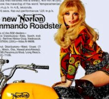 Norton - That 'Beautiful' Advert. Sticker