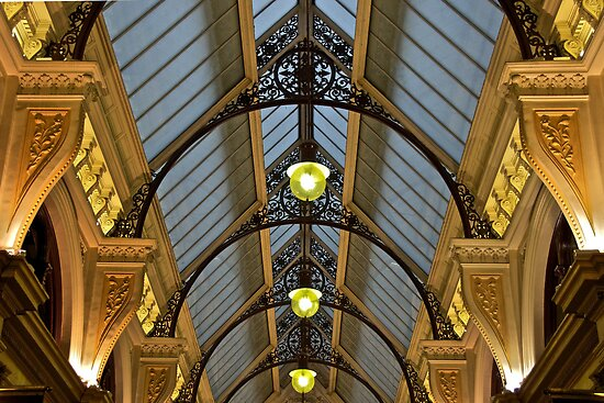 Melbourne Block Arcade Arches by James Torrington