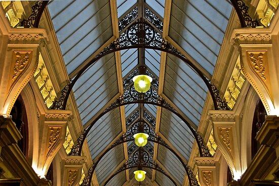 Melbourne Block Arcade Arches by James Torrington