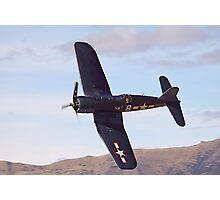 Fg-1d Corsair Top Veiw Photographic Print