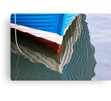Boat Lines Canvas Print