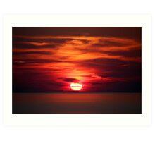 ~Deep Tranquillity of Grandfather Sun~  Art Print