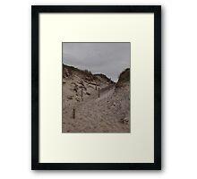 Dune Access Framed Print