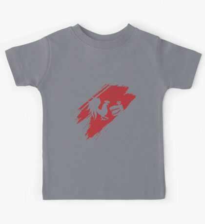 Rooster Teeth brush stroke  Kids Tee