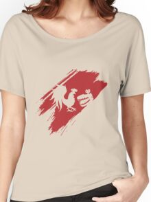 Rooster Teeth brush stroke  Women's Relaxed Fit T-Shirt