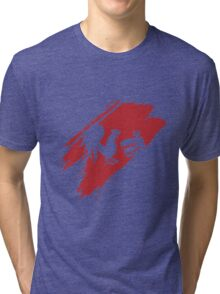 Rooster Teeth brush stroke  Tri-blend T-Shirt