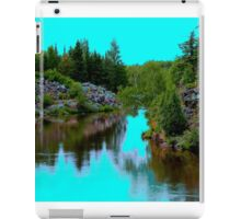 Tranquilty on the River iPad Case/Skin