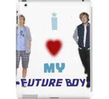 I <3 My Future Boy (Version 2) iPad Case/Skin