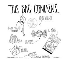 This Bag Contains... by marauders