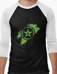 Achievement Hunter brush stroke Men's Baseball ¾ T-Shirt