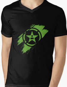 Achievement Hunter brush stroke Mens V-Neck T-Shirt