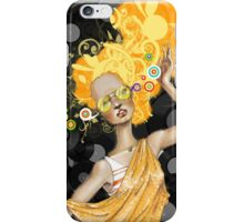 Golden Music iPhone Case/Skin