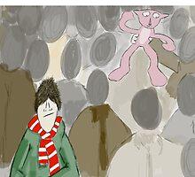 Pink Panthers by Steve Nestor
