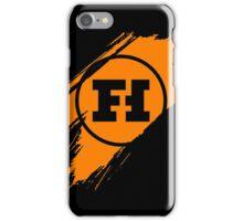 Funhaus brush stroke iPhone Case/Skin