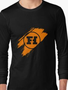 Funhaus brush stroke Long Sleeve T-Shirt