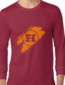 Funhaus brush stroke Long Sleeve T-Shirt