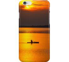 Kayak Sunset iPhone Case/Skin