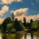Longton Park Lake by Aggpup