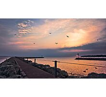 Irondequoit Bay channel Photographic Print