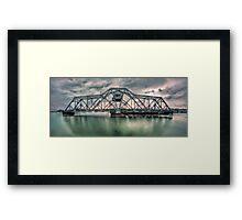 Hojack swingbridge - Rochester NY Framed Print