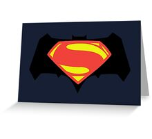Batman vs. Superman Greeting Card
