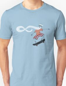 The Ancient Skater, Forever Skate ukiyo e style Unisex T-Shirt