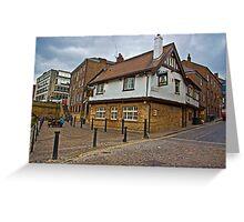 Kings Arms - Kings Staith - York Greeting Card