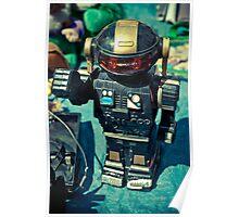 Vintage Japanese Robot Poster