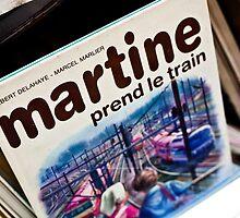 Martine prend le train by Angel Benavides