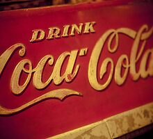 Vintage Coca-Cola by Angel Benavides