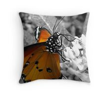 Malay Lacewing Butterfly Throw Pillow