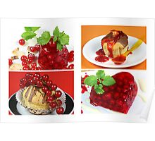 Red Currant Summer Sweeties Poster