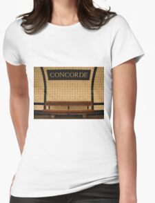 Le Metro - Concorde Womens Fitted T-Shirt