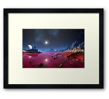 Battle of Serenas River Framed Print