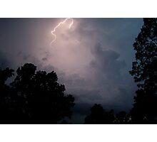Striking Summer Storm  Photographic Print