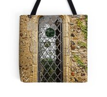Leaded window (Barsham Church) Tote Bag