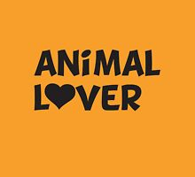 Animal Lover Womens Fitted T-Shirt