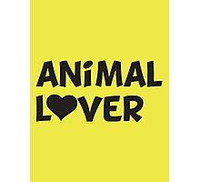 Animal Lover Photographic Print