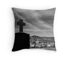 Angel & Cross Throw Pillow